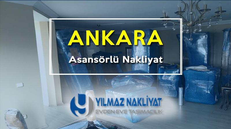 Asansörlü nakliyat Ankara