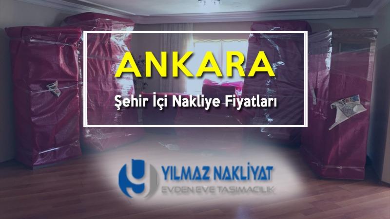 Ankara şehir içi nakliye fiyatları