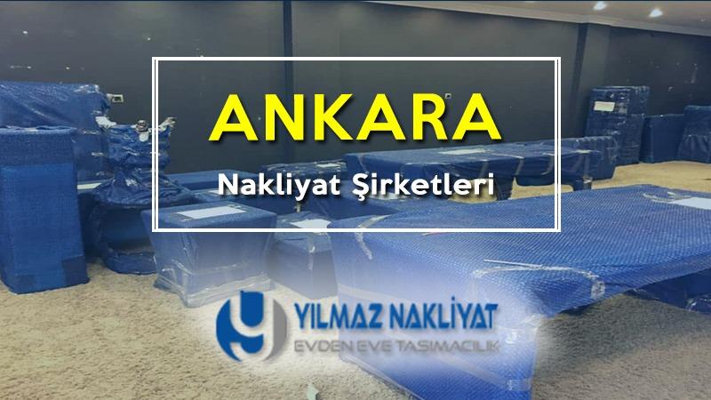 Ankara nakliyat şirketleri