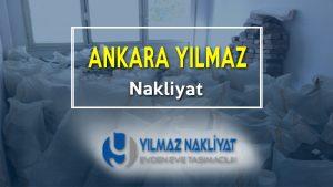 Ankara yılmaz nakliyat hizmetleri